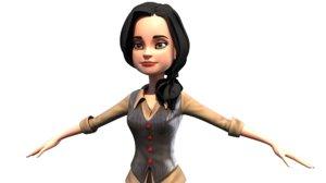 women character model