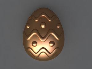 3D egg mold hand