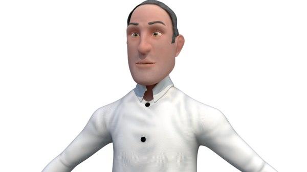 businessman 3D