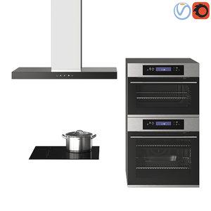 3D kitchen ikea kulinarisk model