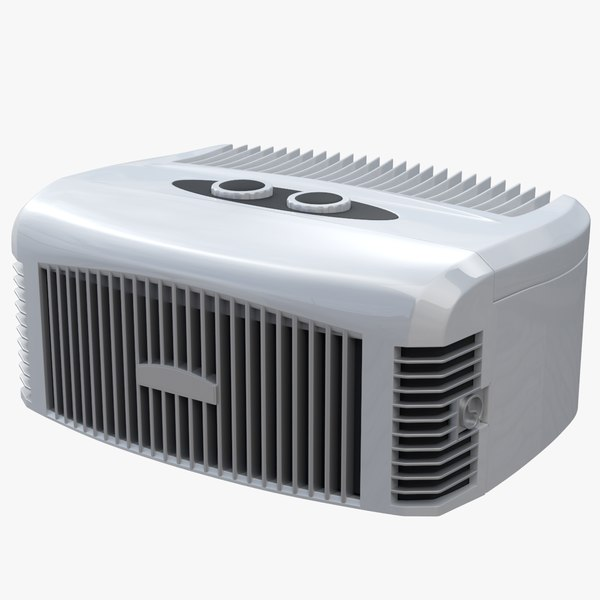 air conditioner samlan 3d model