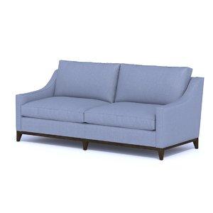 3D model ritz sofa furnishing