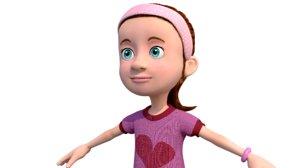 girl character 3D