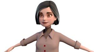 3D women character