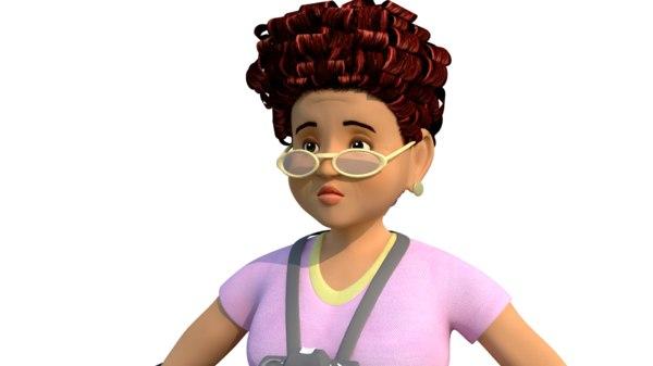 women character 3D