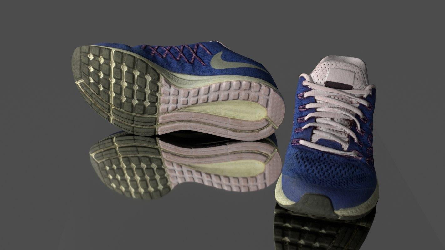 sneaker games vr 3D model