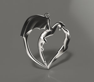 3D jewelry pendants model