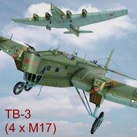 3D tb-3 crew ant-6