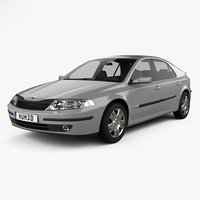 renault laguna liftback 3D model