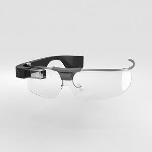 3D google glass enterprise