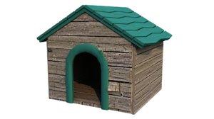 3D doghouse model