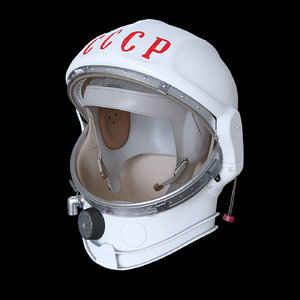 3D space helmet ussr