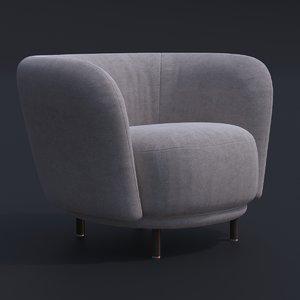 dandy armchair chair bar model