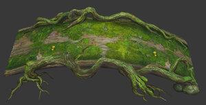 trees east 3D model