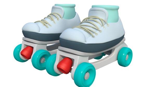 3D model skate