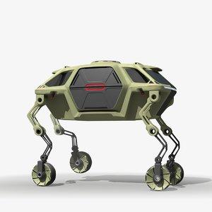 concept quad 3D model