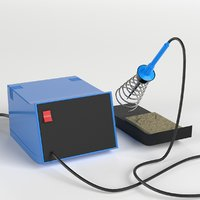 soldering station 3D