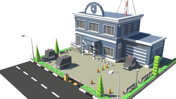 3D model building car