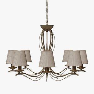 3d modern chandelier lights