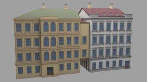 old office building 3D model