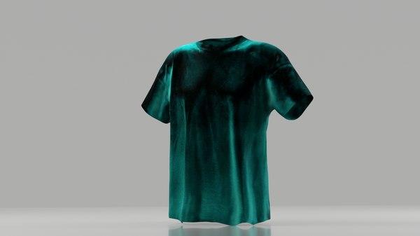 3D model t-shirt games