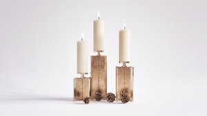 axis candle holder 3D model