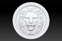 Backgammon stone lion
