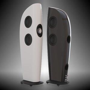 speaker 2 3D model