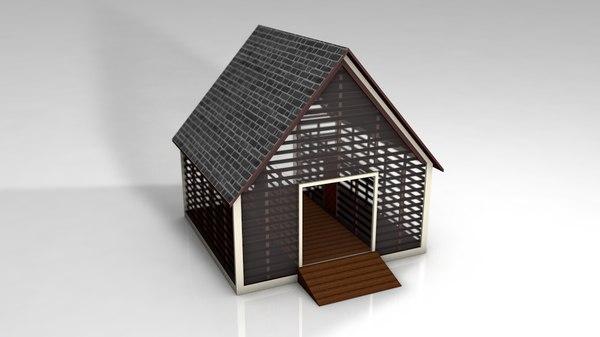 little simple house 3D model