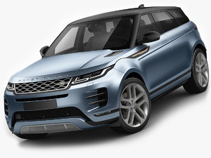 3D land rover range model