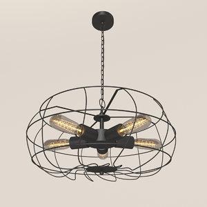 loft chandelliere model