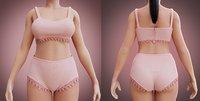 underwear undergarment lingerie model