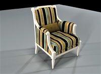 gretta chair 3D