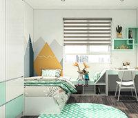 3D bedroom bed