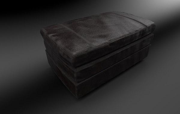 sofa chair - 3D model
