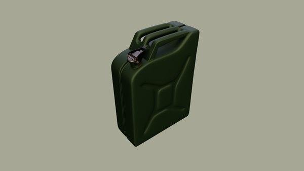 fuel military 3D model