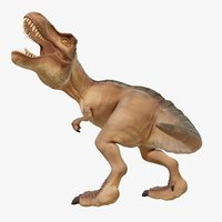 3D t-rex toon model