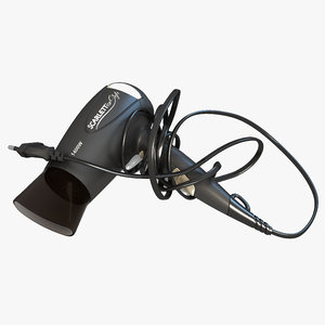3D scarlett hair dryer