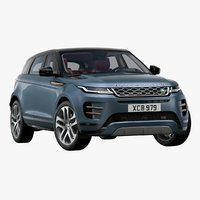 3D model 2020 land rover range