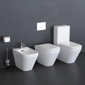 3D toilet tonic ii k3168