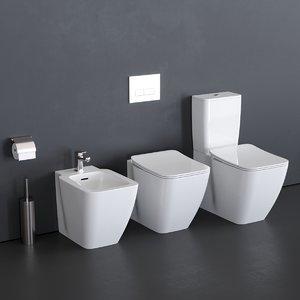 toilet strada ii t2926 3D model