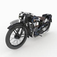 Vintage motorcycle L300