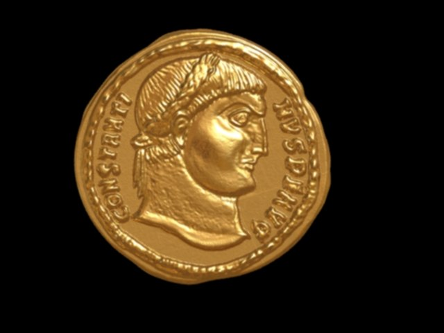 hight print coin 3D model