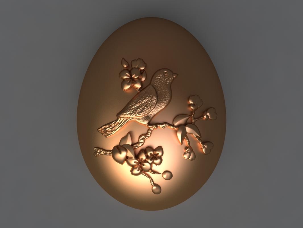 egg mold hand 3D model