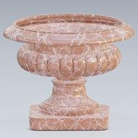 3D urn marble concrete
