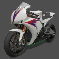 Motorcycle CBR1000RR