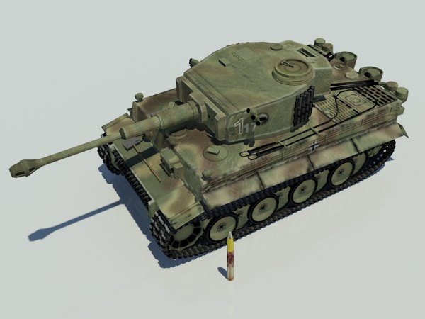 tank german ww2 3D model