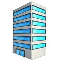 3D office building 2