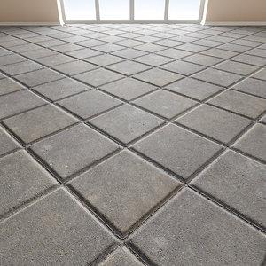 Paving slabs Floor 010