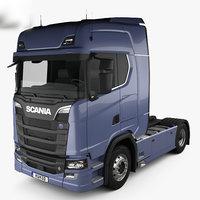 scania s 730 3D model